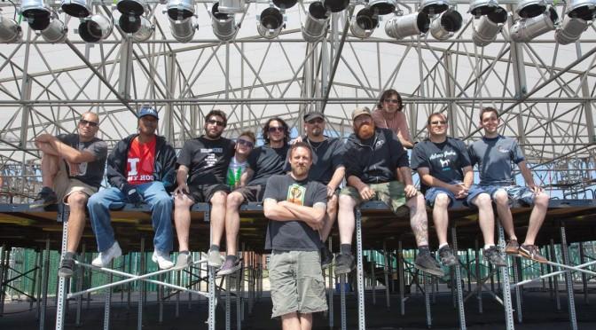 The Stony Pony Summerstage Crew, 2011