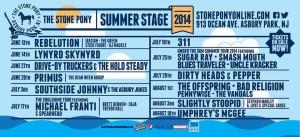 Summerstage 2014 Lineup