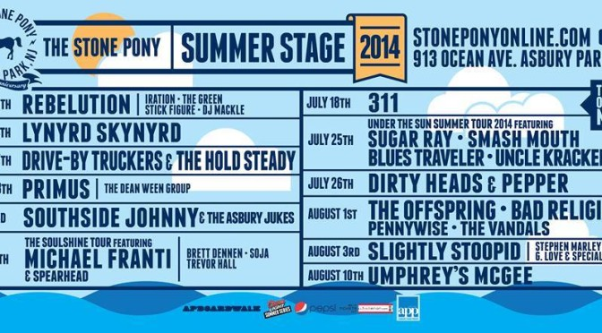 Asbury Audio at The Stone Pony Summer Stage 2014